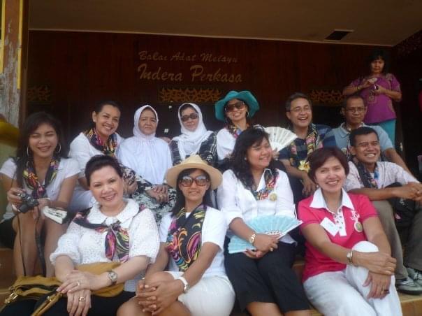 Kenangan Wisata Budaya WARNA WARNI INDONESIA, Jejak Budaya Melayu - Pulau Penyengat  12 Agustus 2011
